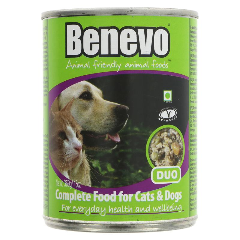 Benevo Duo Cat Dog Food Tinned